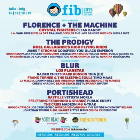 Festival Internacional de Benicàssim FIB 2015