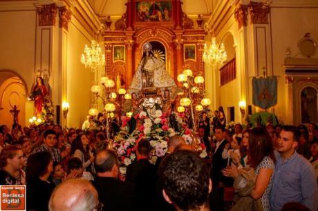 Fiestas in Senija in honour to Asunción Virgin