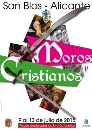 Programa Moros y Cristianos de San Blas 2015