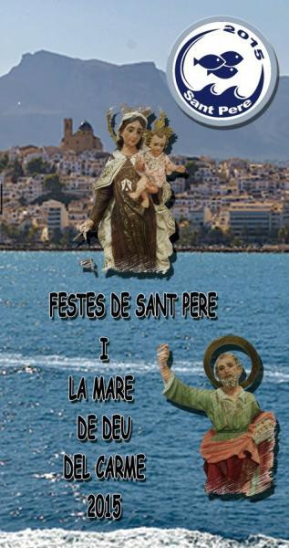 Fiestas de SAN PEDRO y la VIRGEN DEL CARMEN en Altea