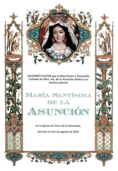 Actos en honor a Ntra. Sra. de la Asunción en Pilar de la Horadada 2015