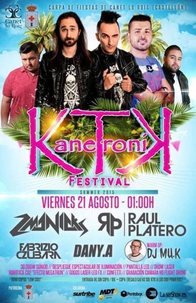 Kanetronik Summer Festival en Canet lo Roig