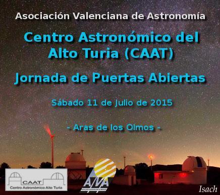 Jornada de Puertas Abiertas -Centro Astronómico del Alto Turia- Aras de los Olmos
