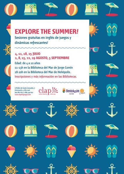 Inglés para niños: Explore the summer