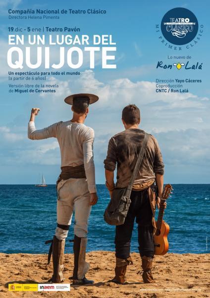 Teatro Ron Lalá presenta: En un lugar del Quijote