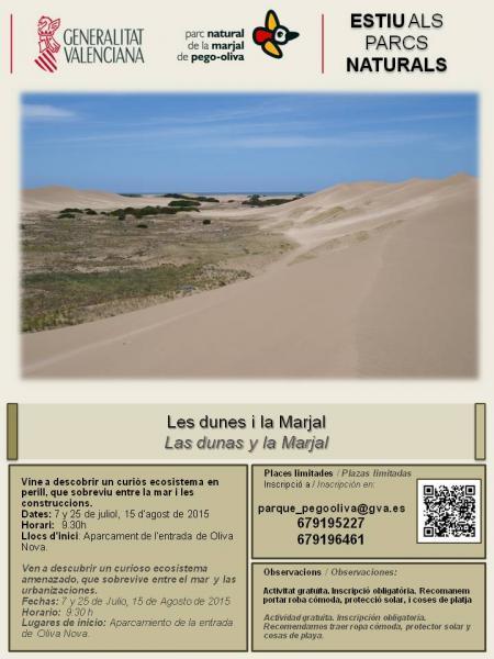 Las dunas y la marjal