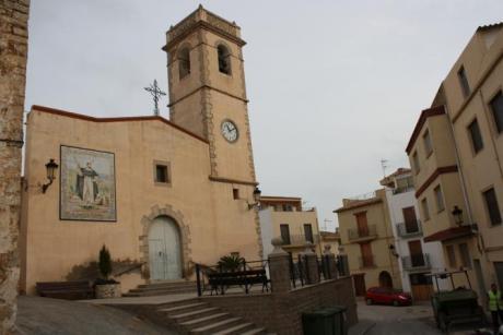 Festividad del Santísimo Cristo del Calvario y la virgen de la Asunción en Costur