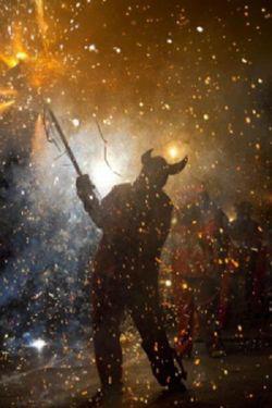 Rituales de fiesta y fuego