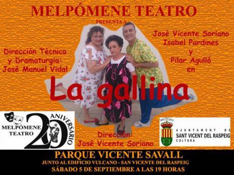 Melpómene Teatro LA GALLINA en San Vicente del Raspeig