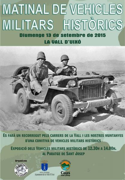 Matinal de vehículos militares históricos