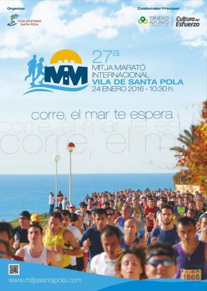 Half Marathon XXVII Vila de Santa Pola 2016