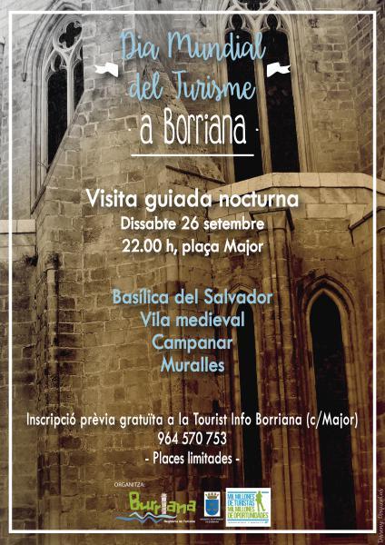 """Borriana – Día Mundial del Turismo DMT-2015 – """"Sé turista en tu ciudad"""""""