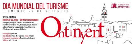 """Ontinyent – Día Mundial del Turismo DMT-2015 – """"Sé turista en tu ciudad""""."""
