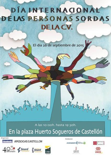 Día internacional de las personas sordas de la C.V. en Castellón de la Plana