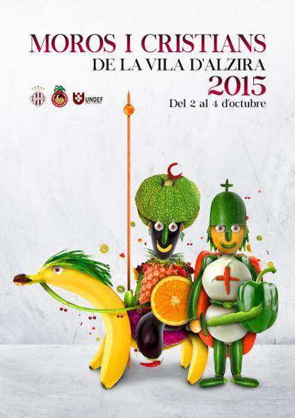 Programa Fiestas: Moros y Cristianos de la Vila de Alzira