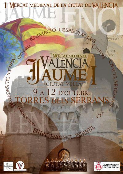 I Mercado Medieval Valencia Jaume I