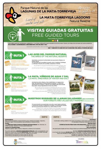 Visitas Guiadas Gratuitas Parque Natural de La Mata
