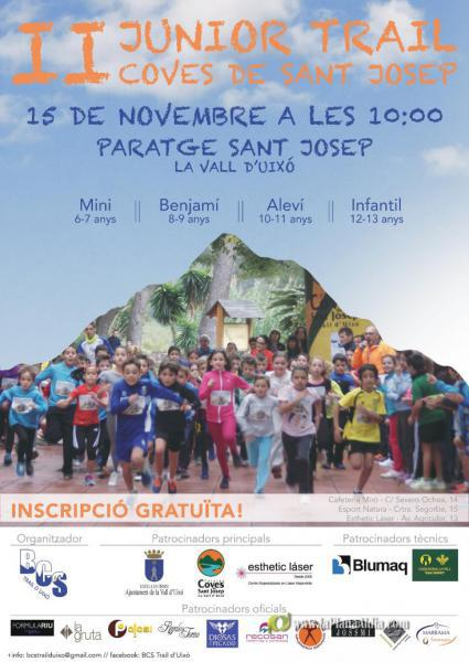 II Junior Trail Coves de Sant Josep