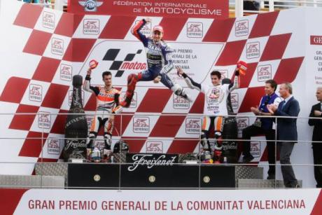 Motul Grand Prix at the Circuit of the Valencia Region Ricardo Tormo