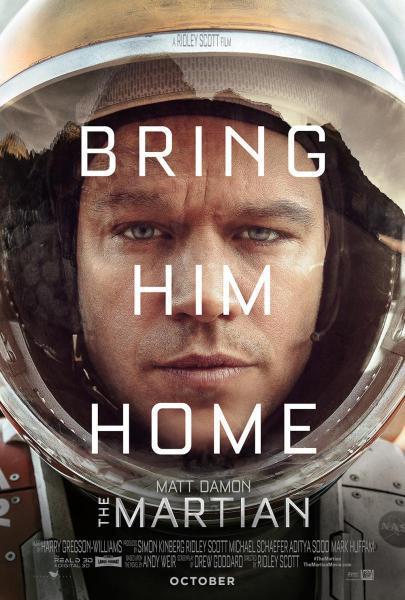 Cine: The Martian (Marte)