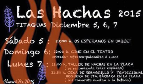 LAS HACHAS 2015- Titaguas 2015