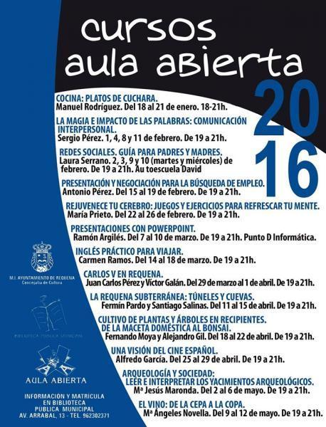 CURSO AULA ABIERTA 2016