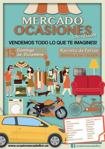 Mercado de ocasiones, en Castellón