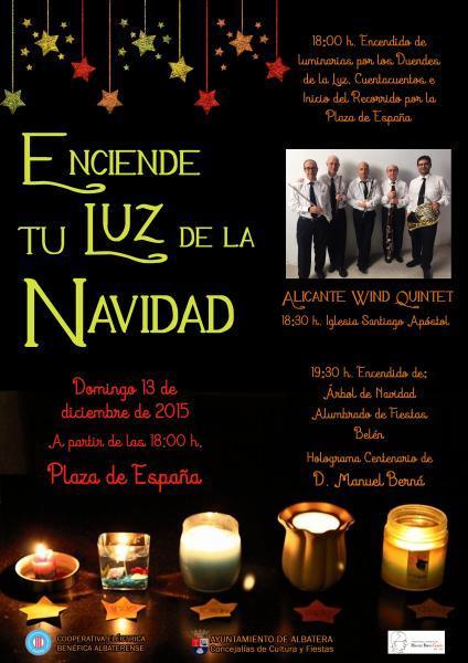 Enciende tu Luz de la Navidad. Programa de Actos