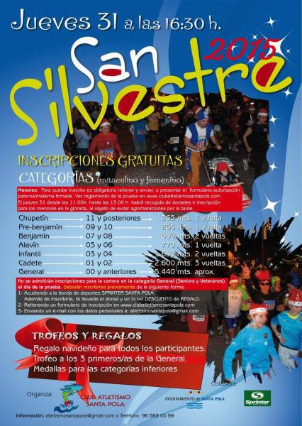 Carrera San Silvestre Santa Pola 2015