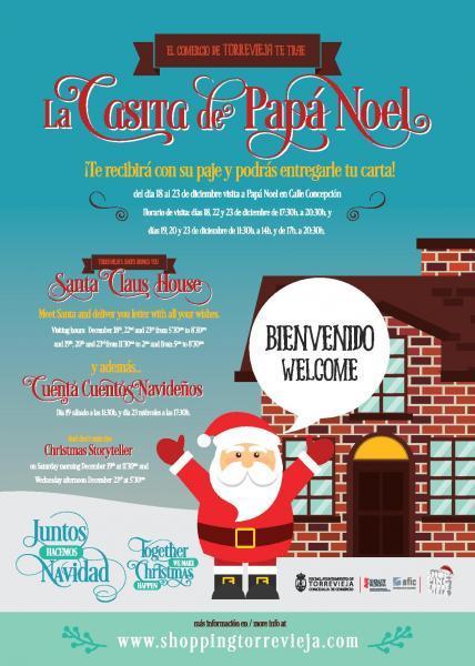 La Casita de Papá Noel en Torrevieja