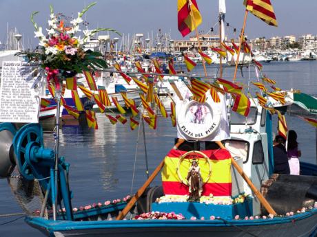 Feierlichkeit der Virgen del Carmen