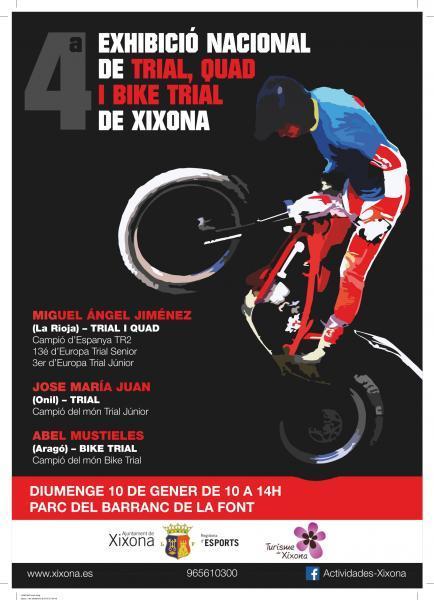 4ª Exhibició nacional de trial, quad, i bike trial de Xixona