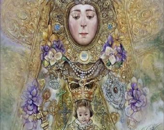 Romería en honor de la Virgen del Rocío