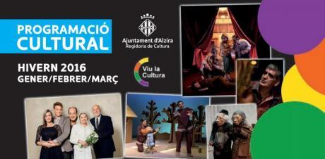 Programación Cultural Invierno 2016 Alzira