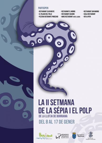II Semana de la sepia y el pulpo de la Lonja de Borriana