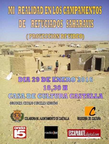 DOCUMENTAL: MI REALIDAD EN LOS CAMPOS DE REFUGIADOS SAHARAUIS