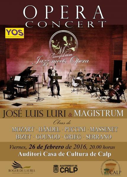 Ópera Concert: JOSÉ LUÍS LURI & MAGISTRUM