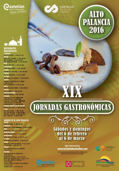 XIX Jornadas Gastronómicas Alto Palancia