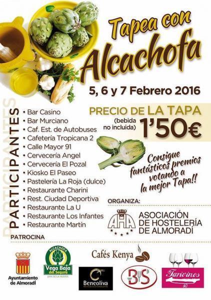 Tapea con Alcachofa en Almoradí