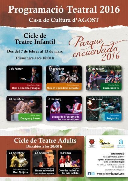 Ciclo de Teatro Infantil: Parque Encuentado