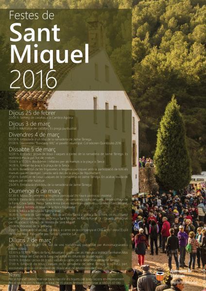 Fiestas Patronales de San Miguel 2016.