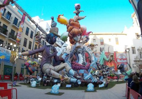 Live and hang on to the biggest party in Valencia, 'Las Fallas.'