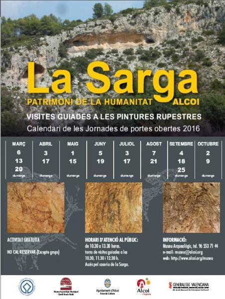 Guided visits to La Sarga