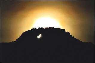 Alineación solar de la Foradà (Vall de Gallinera)
