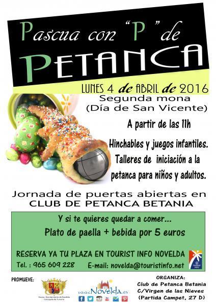 """Pascua con """"P"""" de PETANCA"""