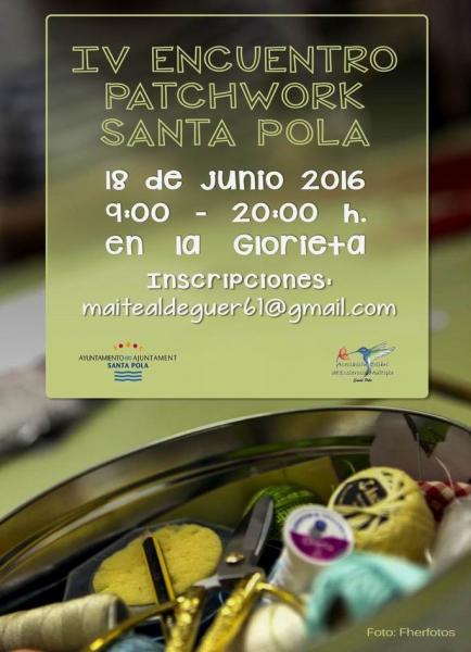 IV Encuentro de Patchwork Santa Pola