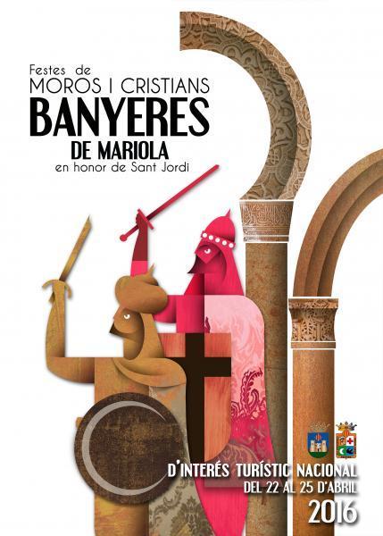 Fiestas de Moros y Cristianos en honor a San Jorge