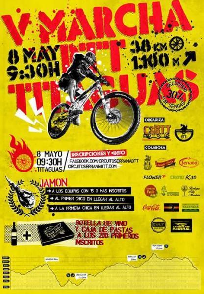 V MARCHA BTT -Titaguas 2016