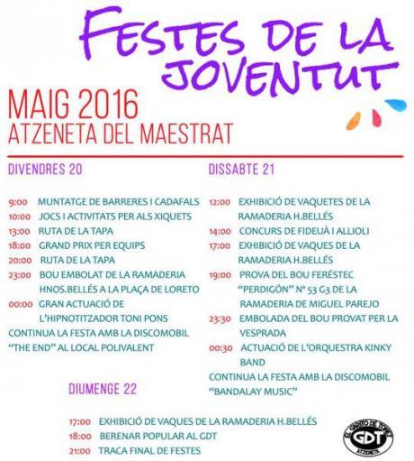 Fiestas de la Juventud 2016