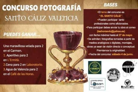 Concurso Fotografía Santo Cáliz Valencia